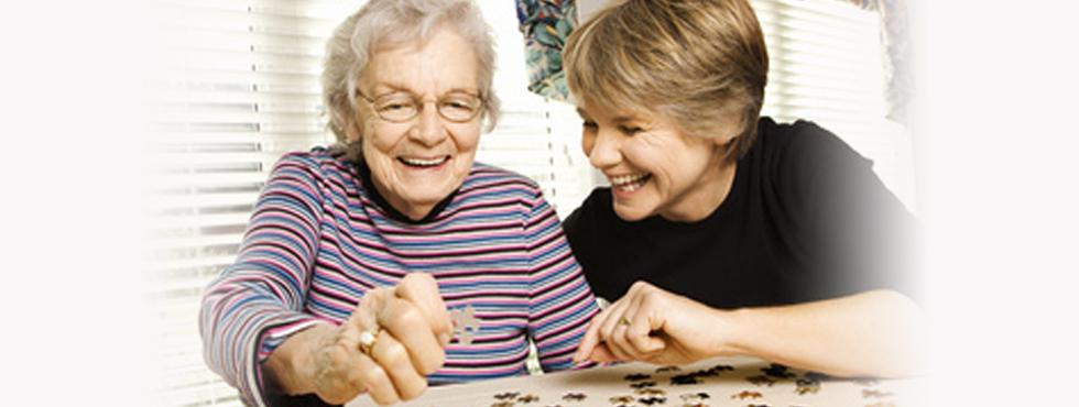 Senior companion servcie nursing home extended care assisted living Calgary Edmonton