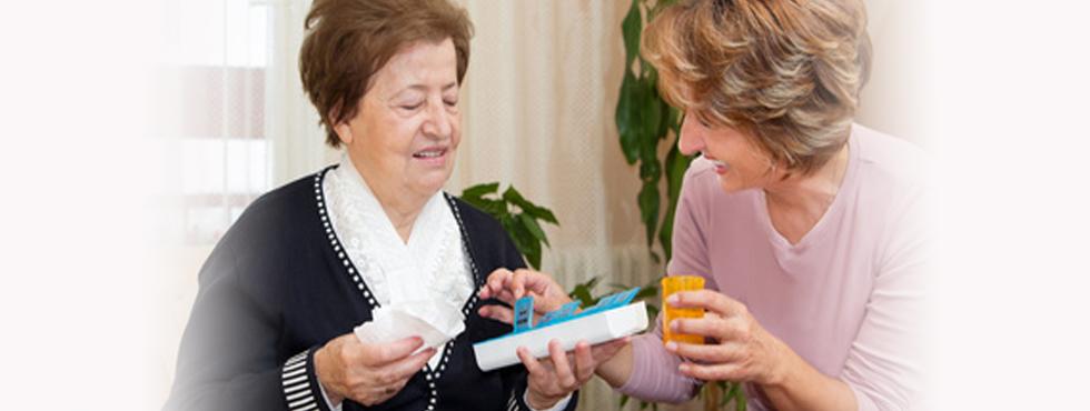 senior companionship in home care service Calgary and Edmonton
