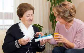 Edlerly Senior In Home Respite Care Service